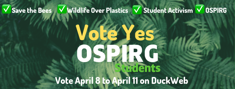 Vote yes for OSPIRG
